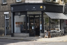 Black Rabbit Speciality Coffee, as seen from the other side of Old Compton Road...