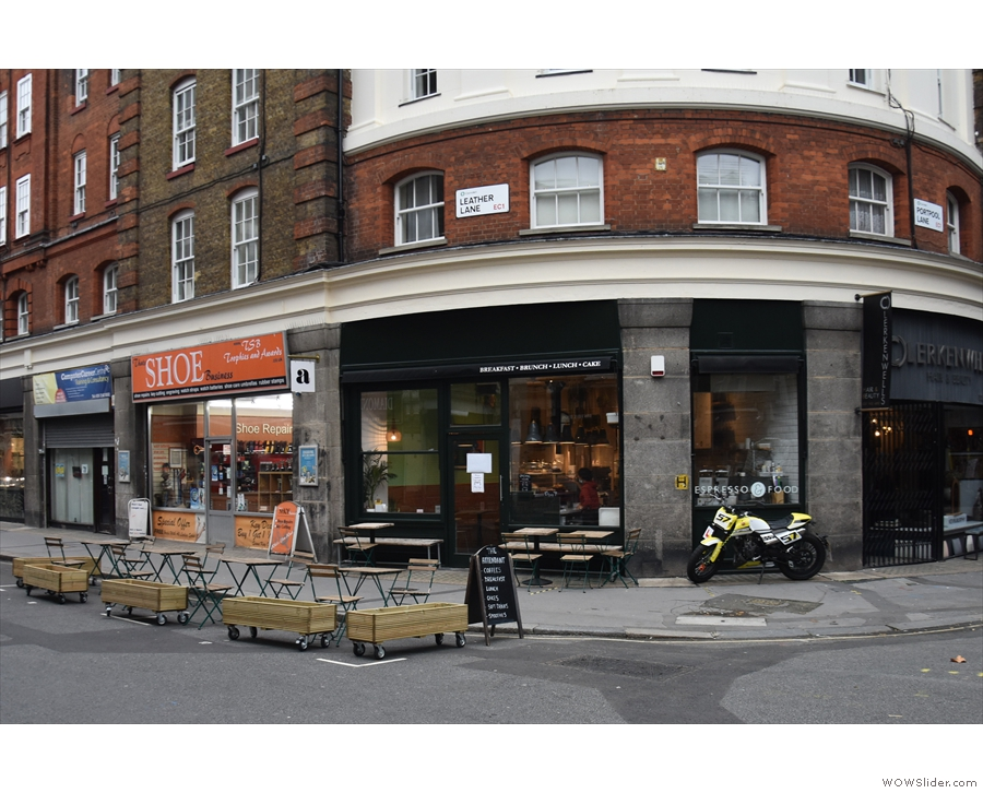 ... home, on the ground floor, to Attendant Clerkenwell. As well as the benches...