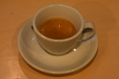 ... then, before I left, the barista pulled me a shot of the Ethiopia Chelelektu to try.