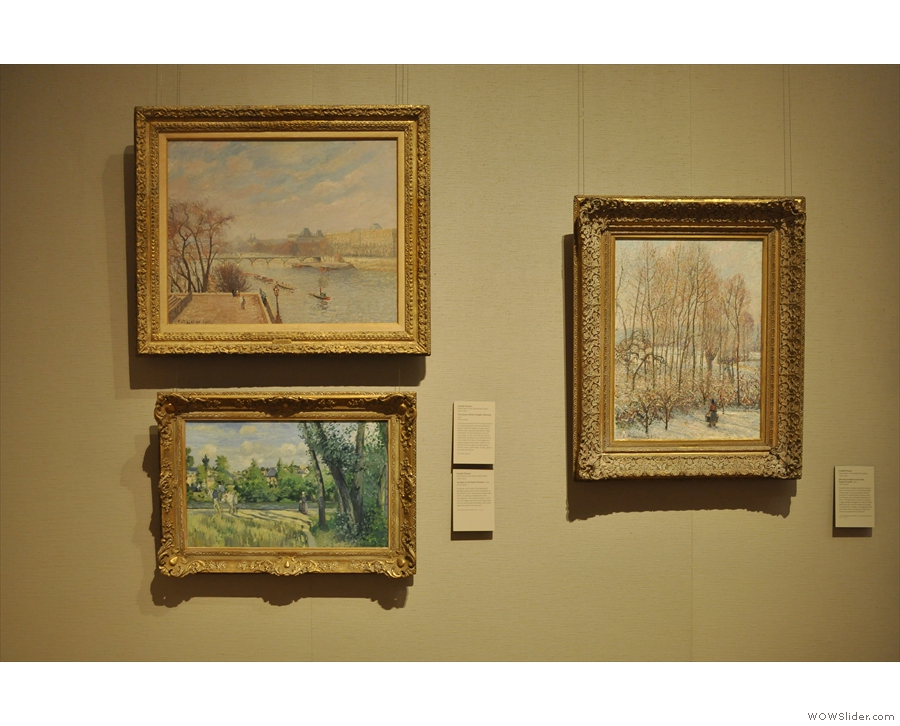 I visited the Musuem of Fine Arts, indulging my love of Impressionists with Camille Pissaro...