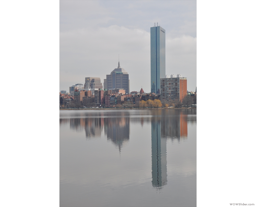 We've already talked about the old John Hancock Tower, while further along is Boston's...