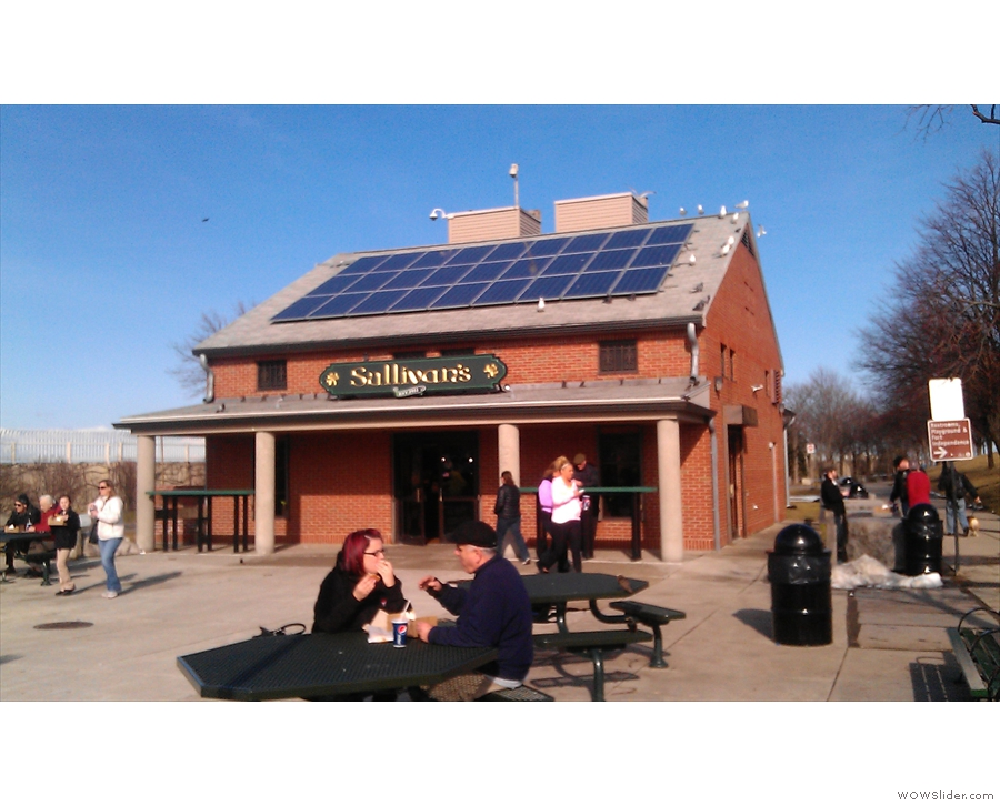 ... Sullivan's Castle Island, which has been serving burgers and seafood since 1951...