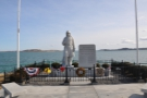 At the end of the causeway is a memorial to those who fought in the Korean War.