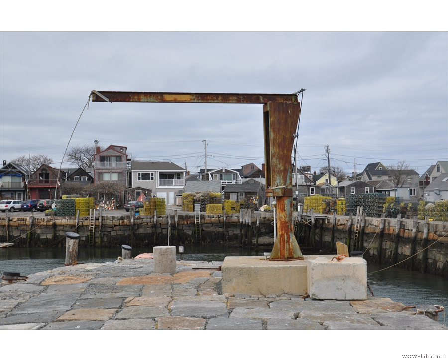 Rockport is, of course, a port made of rocks. Here's a reminder of its working heritage...