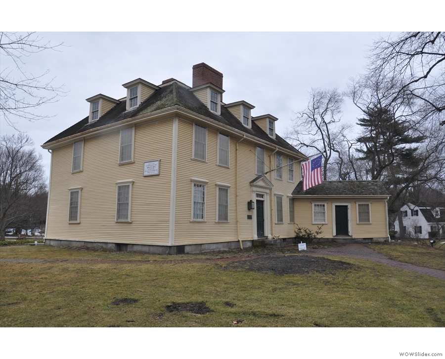 ... Revolutionary War credentials, with structures such as the Buckman Tavern...