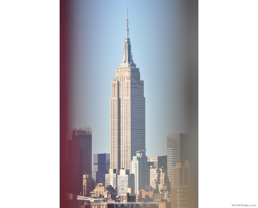 ... the Empire State Building...