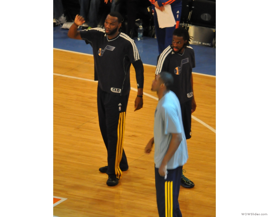 It wasn't much of a game, but I was happy: I'd seen Al Jefferson play...