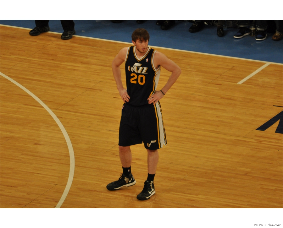 ... as well as a (very young looking) Gordon Hayward...