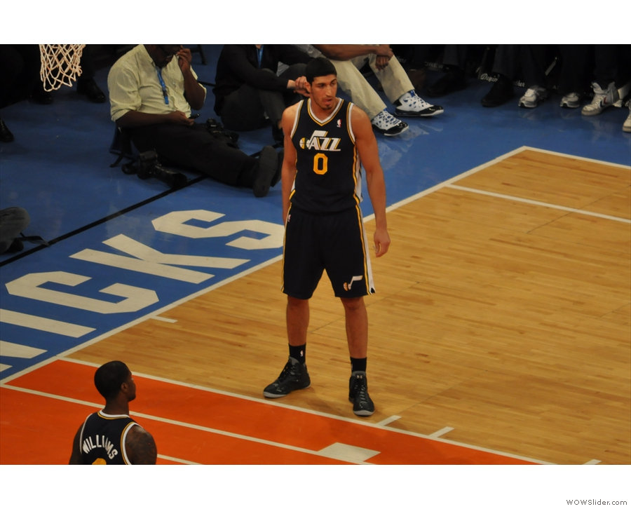 ... and another personal favourite player, Enes Kanter.