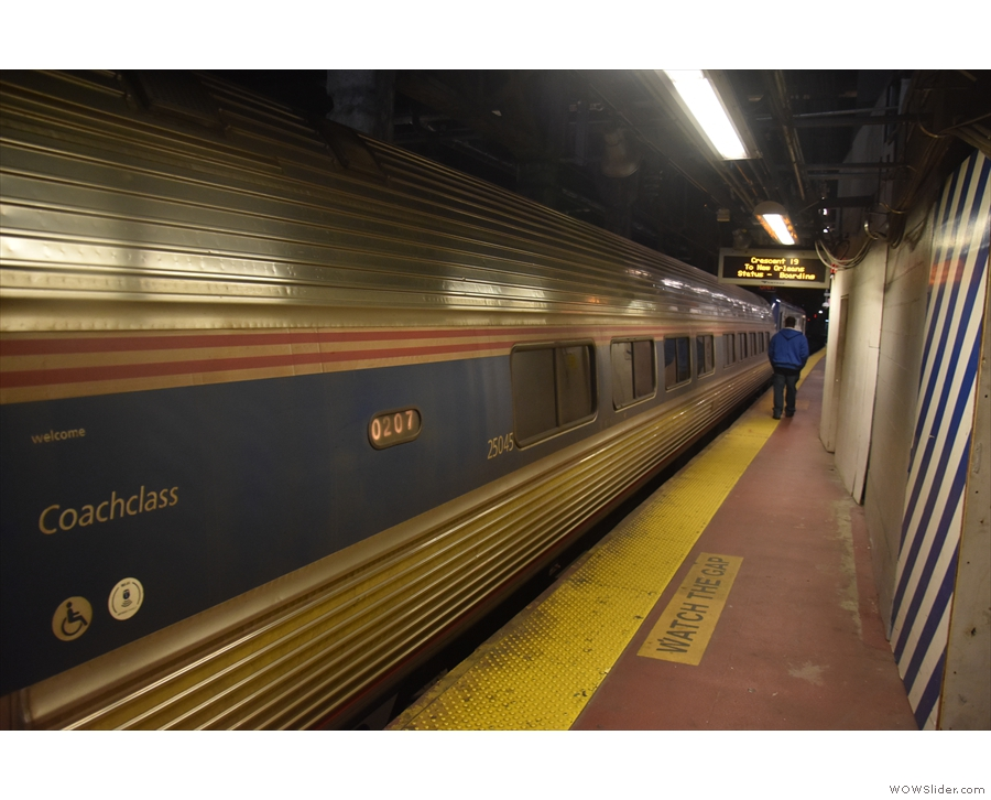 These photos are also from 2020. The Adirondack consisted of five of these standard...