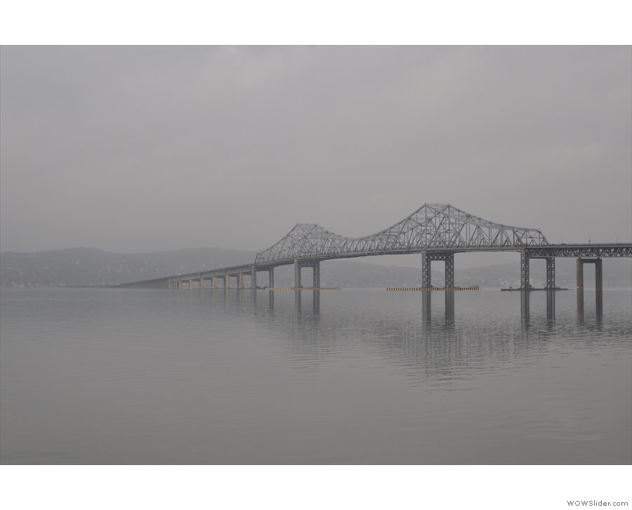 You won't see this though. It's the old Tappan Zee Bridge which was closed in 2017...