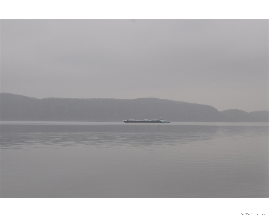 ... Hudson River valley, which are well worth it even on a grey day like the one I had.