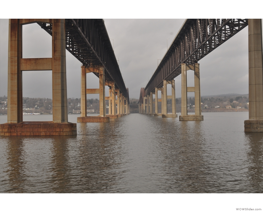 ... although pedants (like me) might argue that it's two bridges...