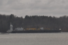 I'll leave you with one more barge heading upstream before we reach Albany.