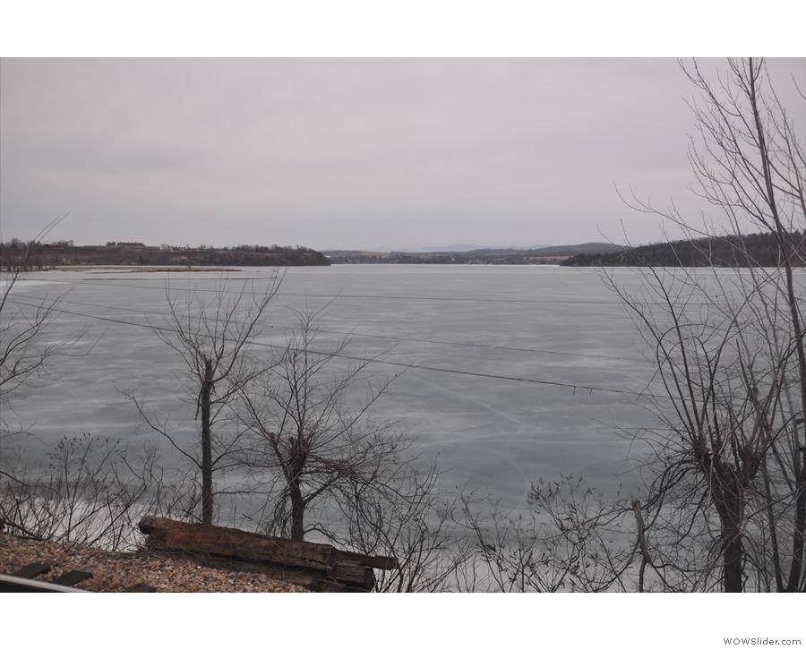 More frozen lake views.