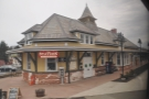 There are a number of stops along the way, like the prettty Fort Edward station.