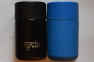 ... has exactly the same external dimensions as the original 12 oz (in blue).