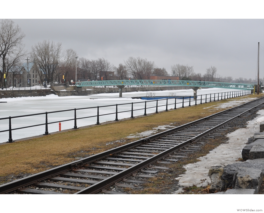 I was staying very near the Lachine Canal...