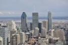 Three Montreal skyscrapers: 1000 de La Gauchetière, CIBC Tower & 1250 René-Lévesque.