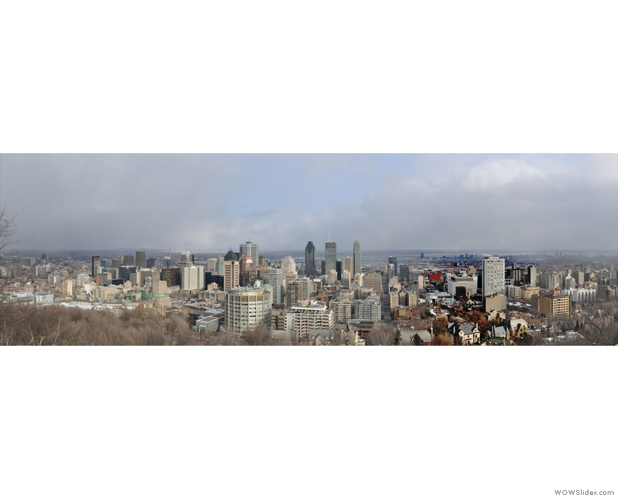 ... so I was able to get this panoramic view.