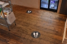 ... although the one-way system on the floor hasn't changed.