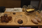 Meanwhile, the usual suspects in terms of cakes and pastries are on the counter top...