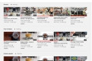YouTube automatically sorts in limited categories (including 'Most Popular')...