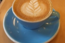 ... for a pre-departure flat white...
