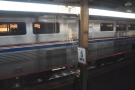 The view from my seat as we prepare to leave New Orleans station.