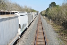 Freight trains in America are long. Very long.