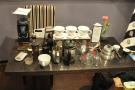 The aftermath: there was a lot less mess than I thought there would be!