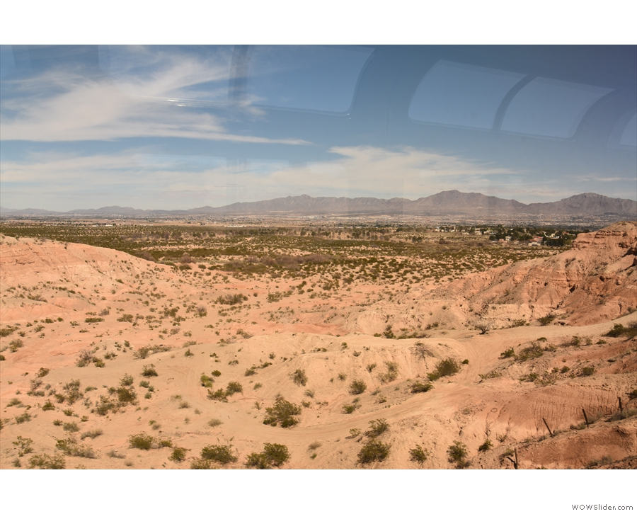 Back in the observation car, the train climbed out of the Rio Grande Valley and headed...
