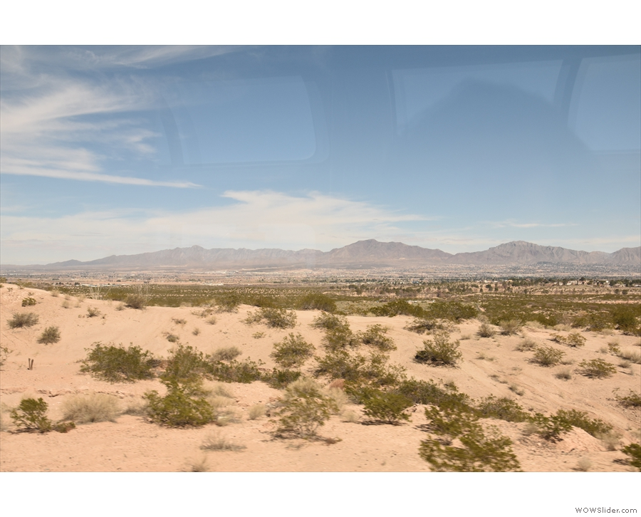 ... off across the New Mexico desert.