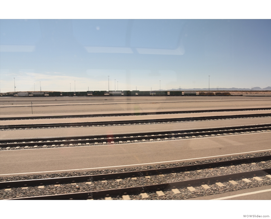 ... freight terminal about 20 minutes after El Paso, complete with these...