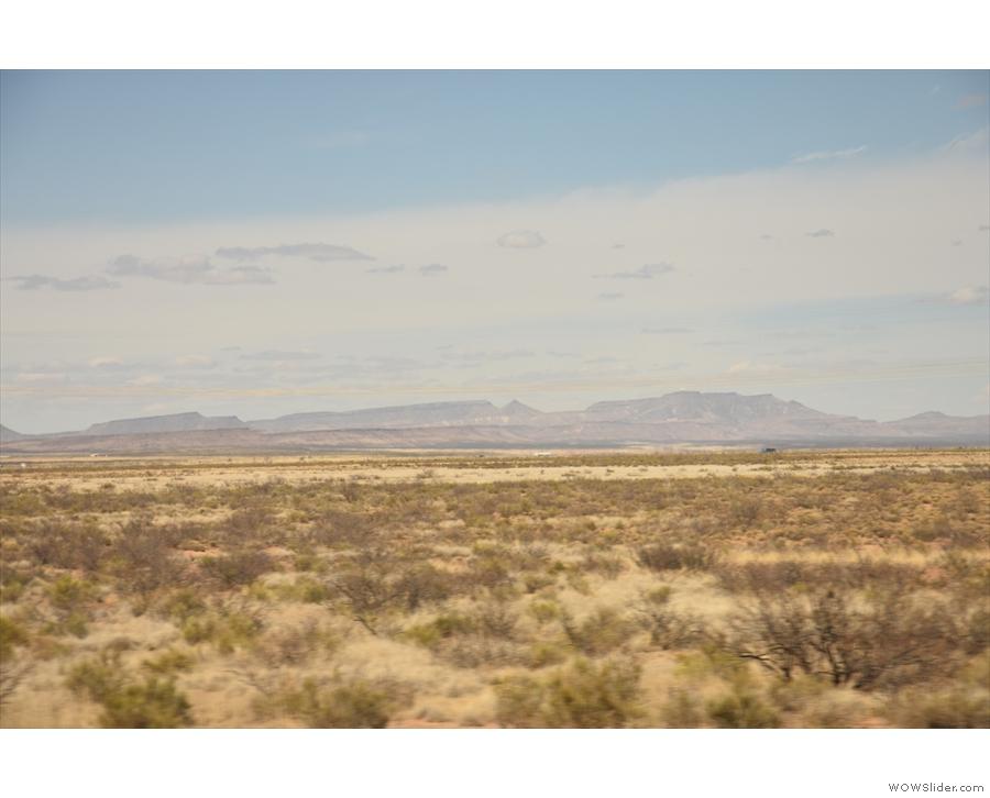 I love the shape of those mountains.