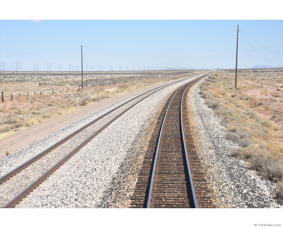 Oh look! A curve in the track1