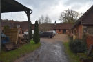 Beyond the second barn are the farm buildings (off limits for coffee bar visitors).