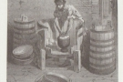 ... while this is a man making a Dutch cheese (from 1870), which is where I'll leave you.