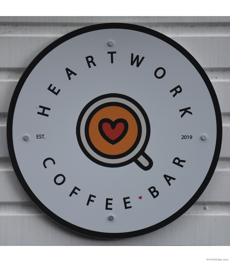 Heartwork Coffee Bar, at the back of the farm in the heart of the Surrey Hills.