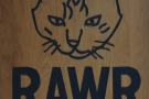RAWR Coffee Bar, a speciality coffee shop inside a cat cafe in Oakland, California.