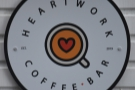 Heartwork Coffee Bar, serving walkers and cyclists from a horsebox in a farm yard.
