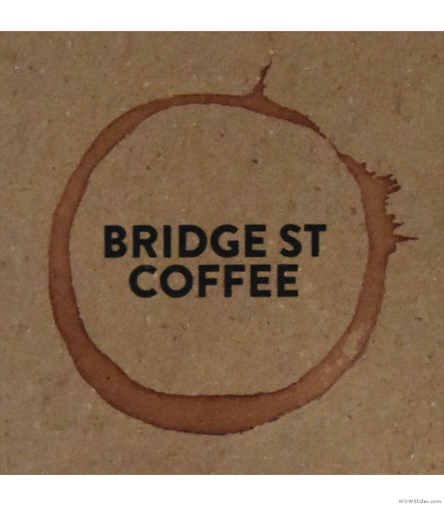 Next, we're in Chester and the basement-like space of Bridge St Coffee.