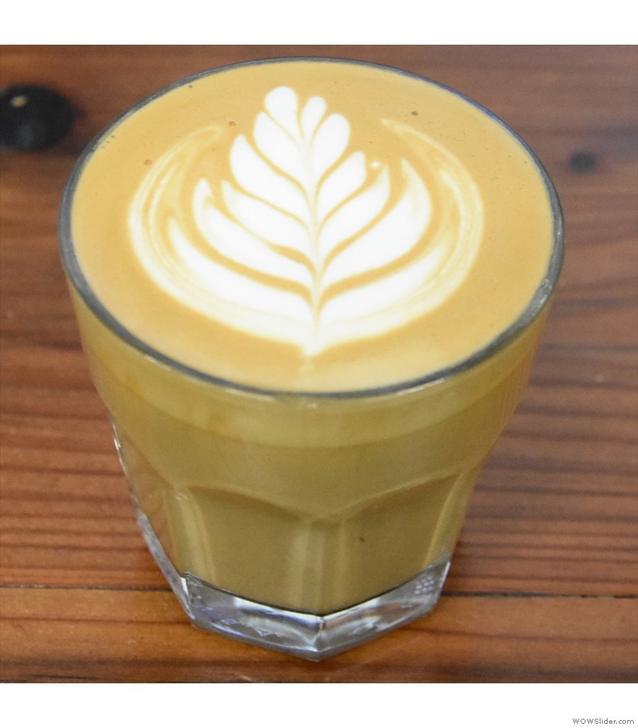 We start the last of today's shortlists with the Chromatic Coffee Roastery Cafe in San Jose.