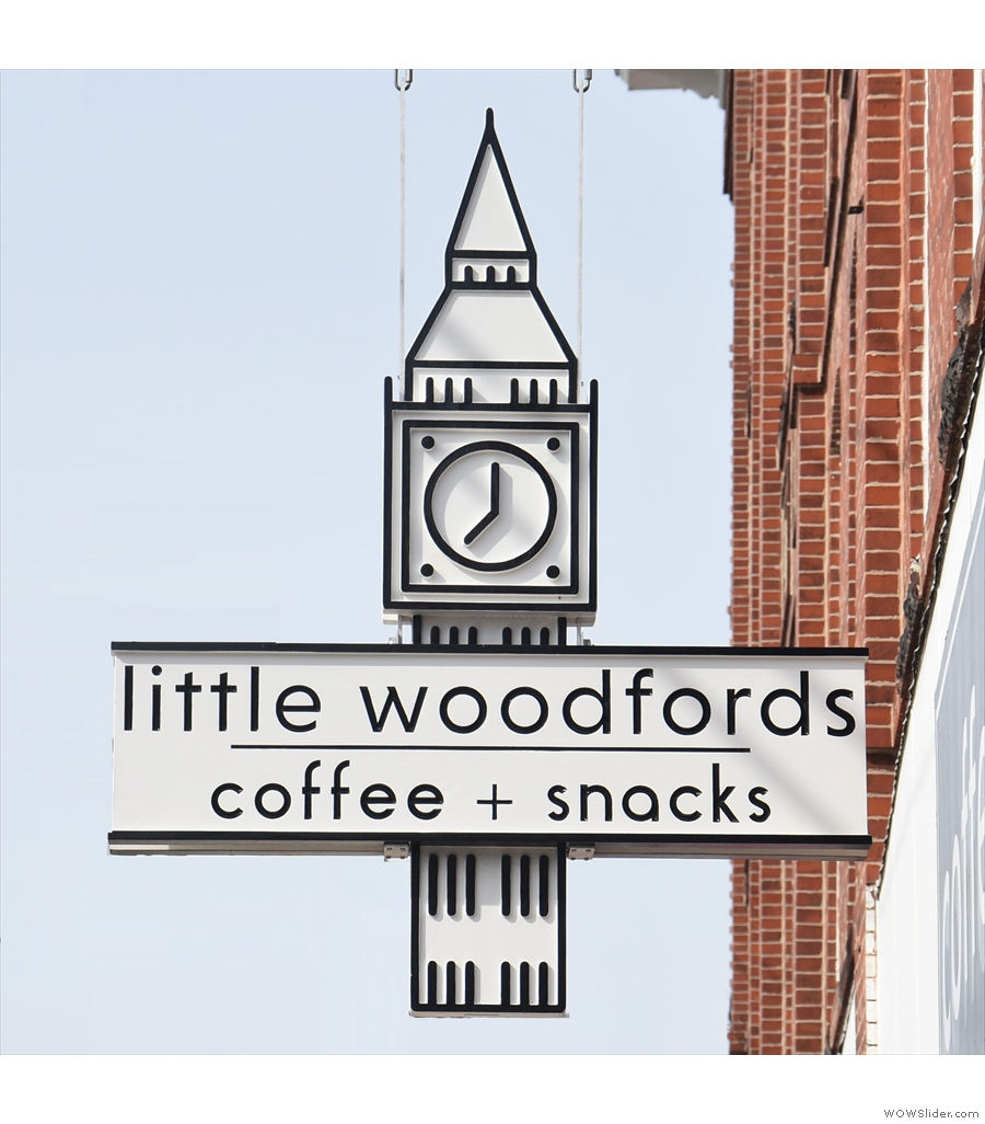 Back in the USA, but this time on the east coast, we find Little Woodfords in Portland.
