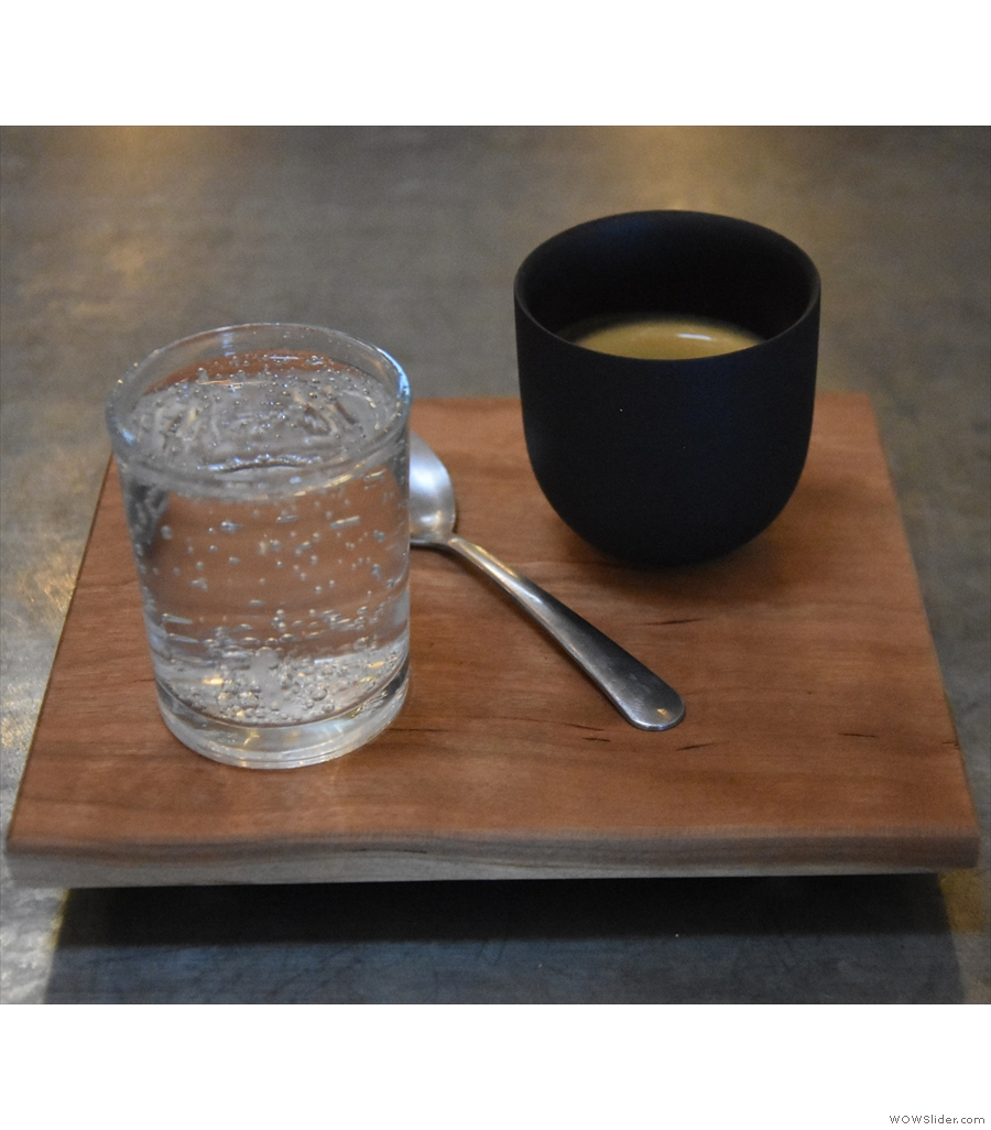 Don't be fooled by the picture: Pair Specialty Coffee & Tea does a mean filter coffee too!