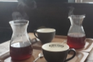 A pair of wonderful pour-overs from the Ue Coffee Roastery Cafe & Kitchen.