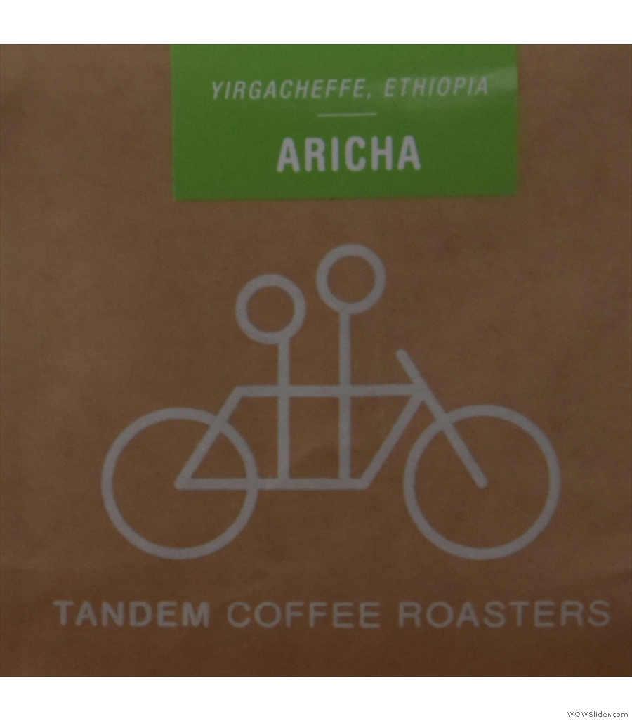 Staying in America, but swapping coasts, we're cupping at Tandem Coffee Roasters.