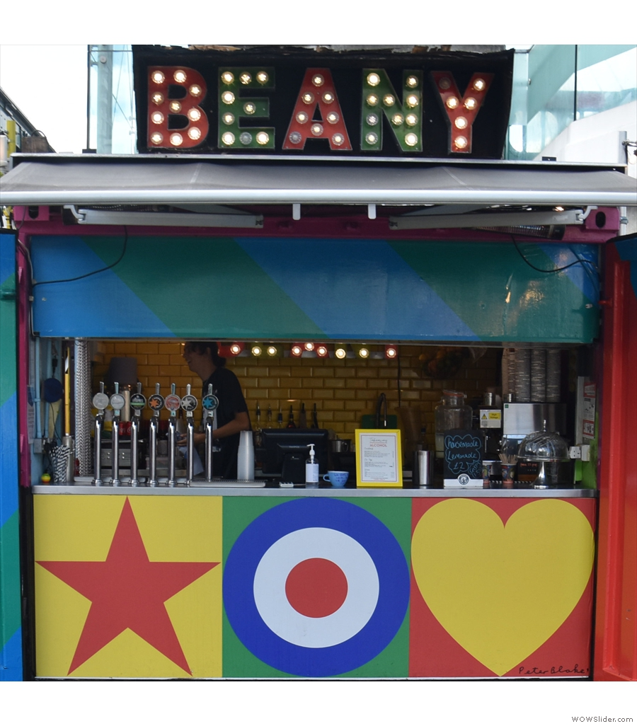 Beany Green, South Bank, is another that is steadily expending its outdoor seating.