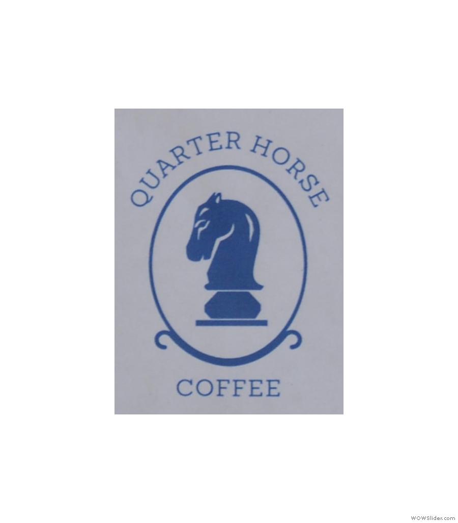 I had the Roan blend (natural Ethiopian and natural Rwandan) at Quarter Horse Coffee.