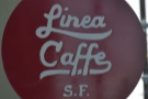 Next, Linea Caffe, with the house blend: well-balanced, smooth and surprisingly dark.